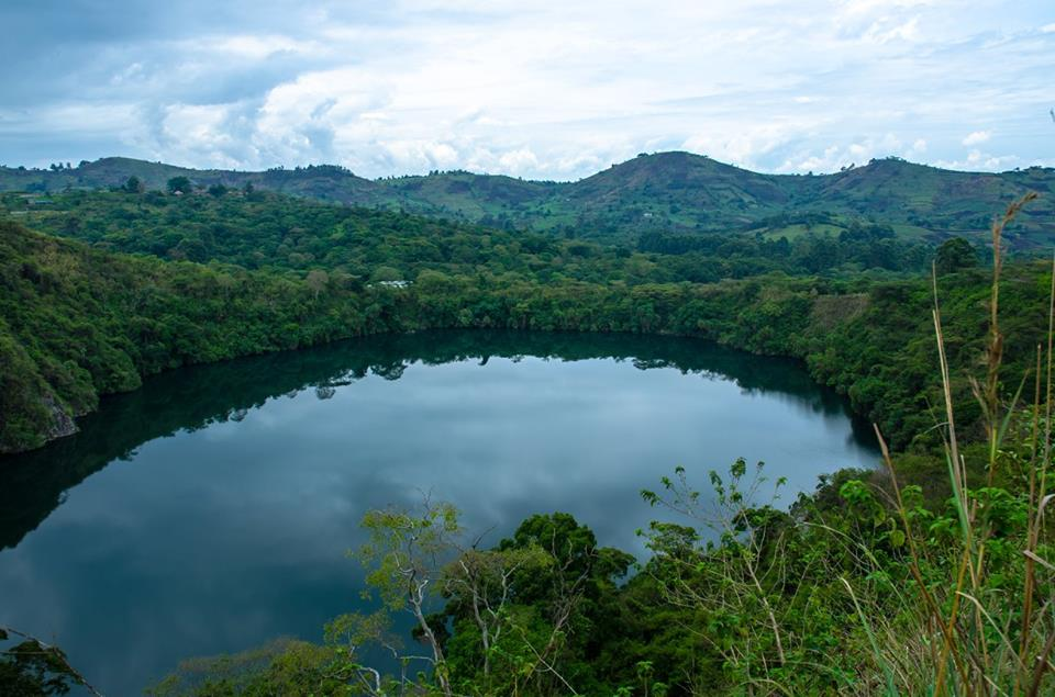The crater district of Uganda.