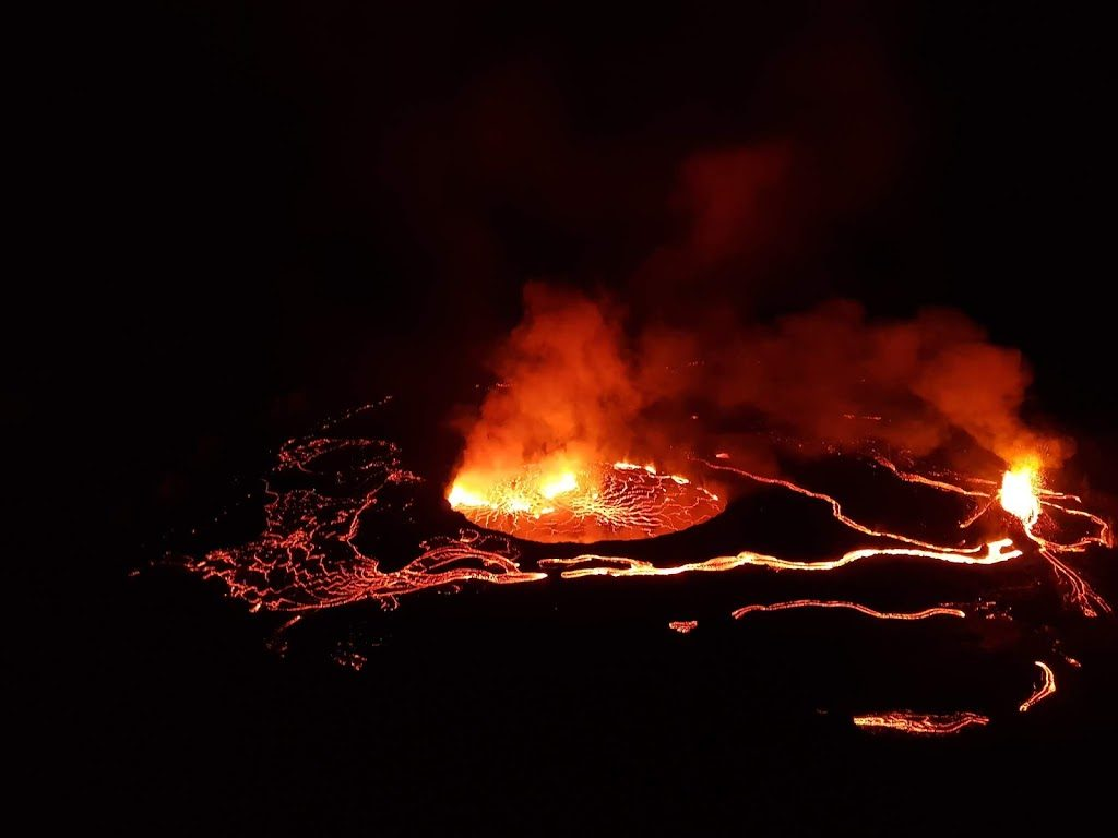Chasing Lava On Mt Nyiragongo.